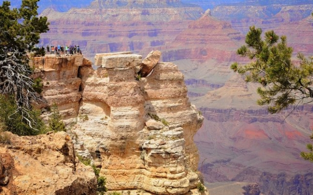 Grand Canyon South Rim Scenic View - Group