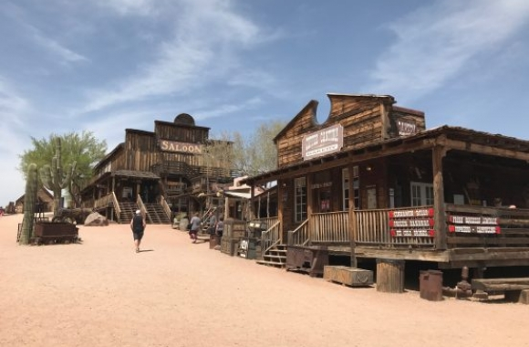 Goldfield Ghost Town Apache Trail
