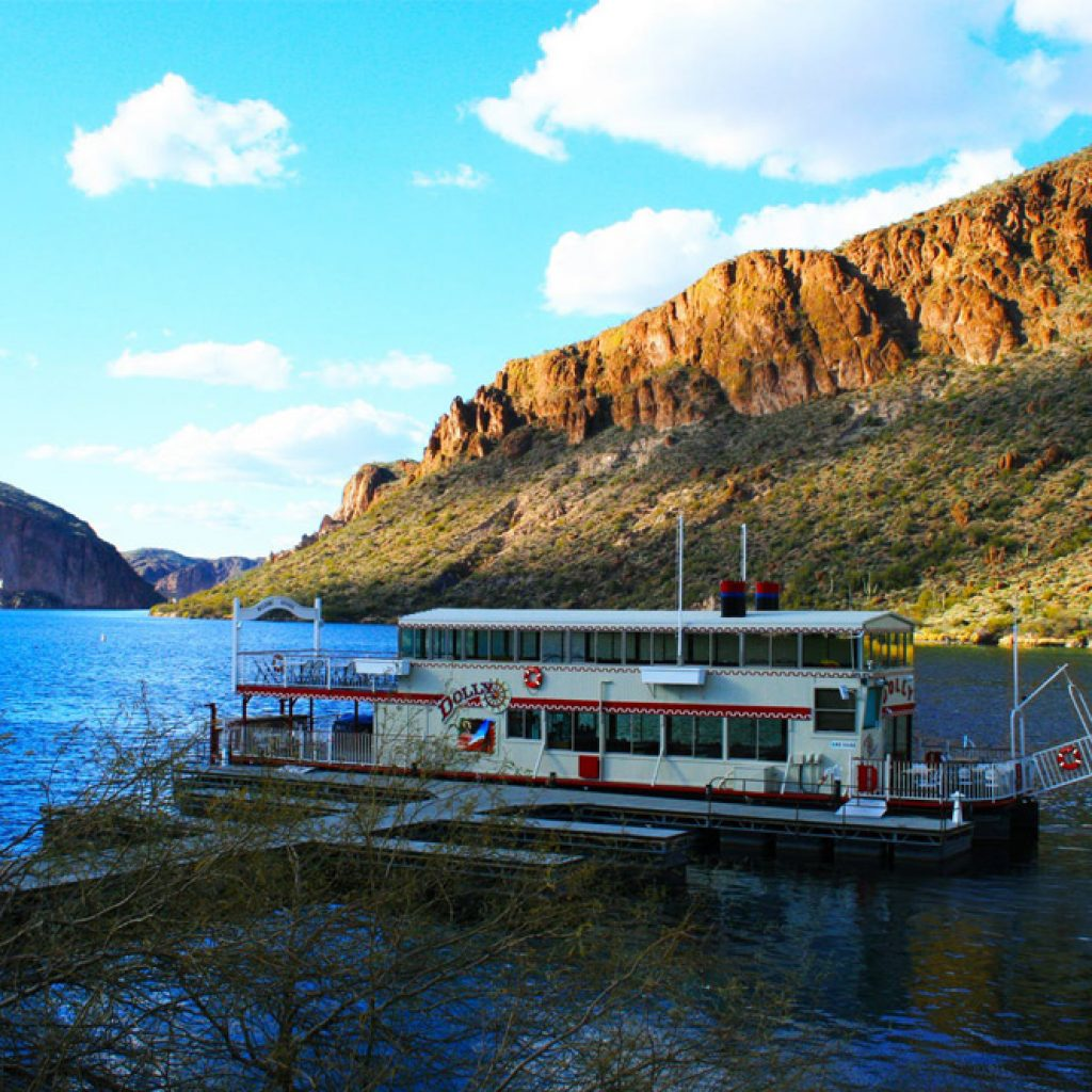Dolly Steamboat Boat Tour DETOURS Apache Trail