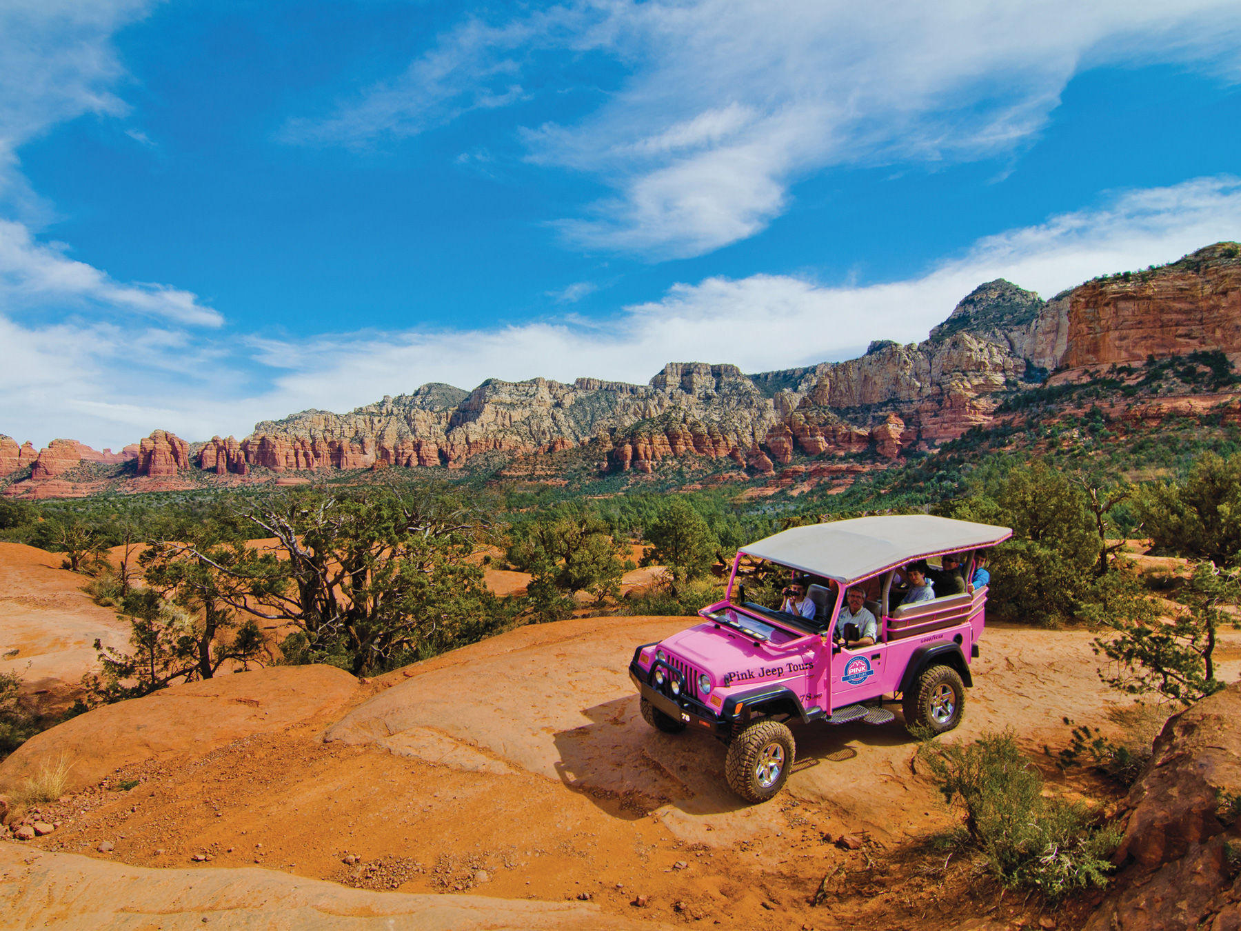 Pink Jeep Tours Sedona Broken Arrow Tour