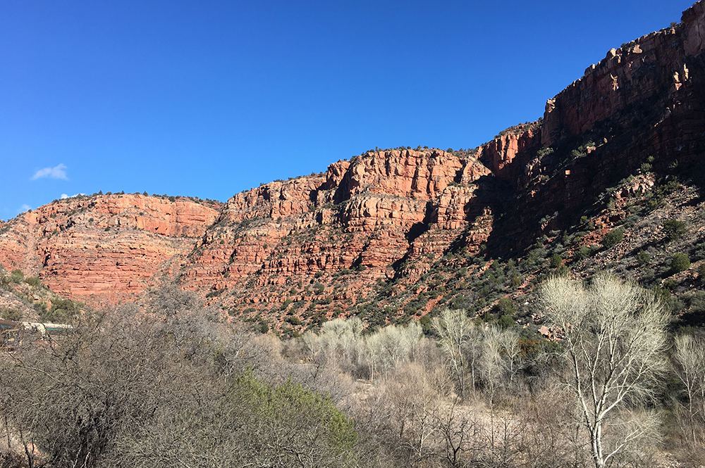 Verde Canyon Railroad Scenic View