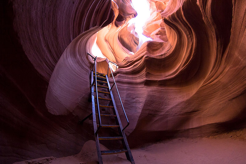 Antelope Canyon Tours - Ladder