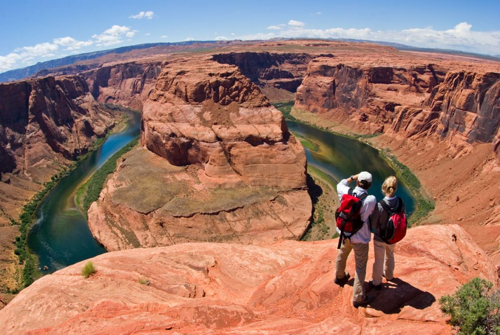 Horseshoe Bend - People Viewing