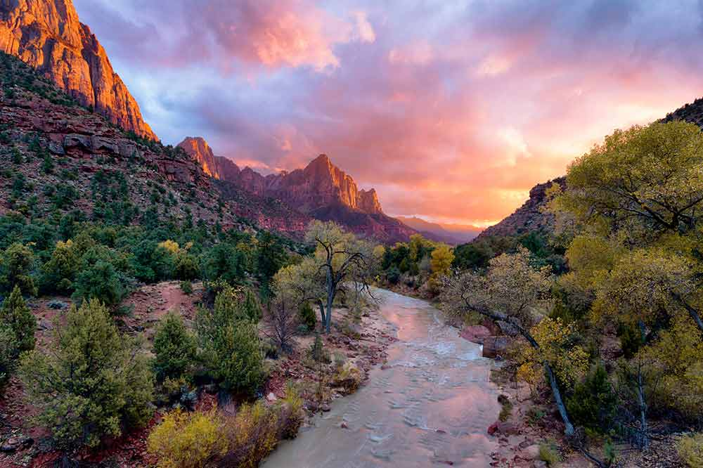 Zion National Park Tours from Las Vegas - Colors